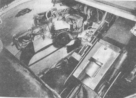 башня танка внутри