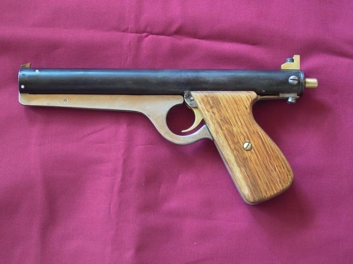 пистолет самоделка