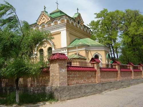 чирчик церковь