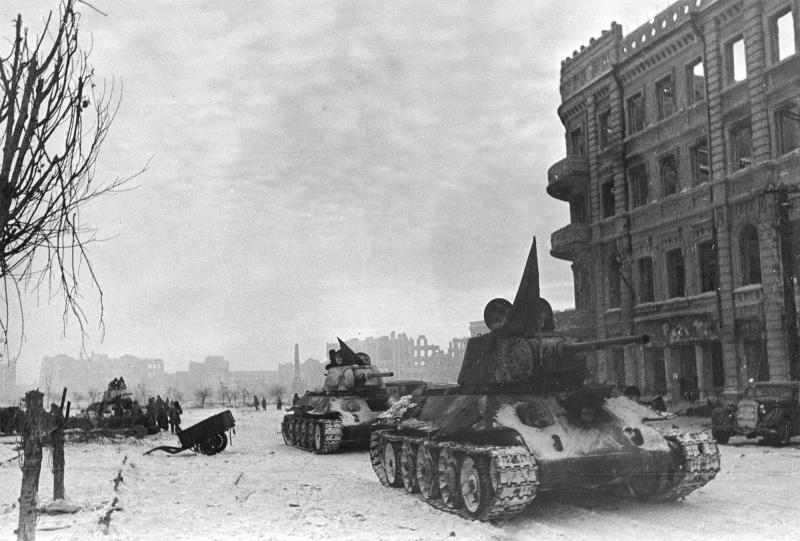 танки в сталинграде