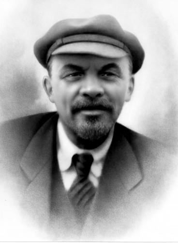 Ленин в кепке